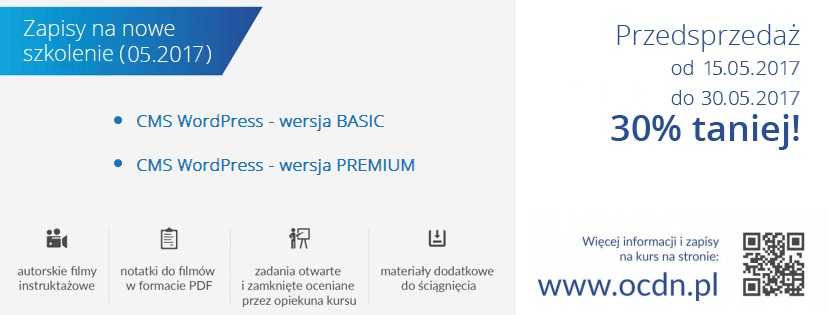 baner WordPress